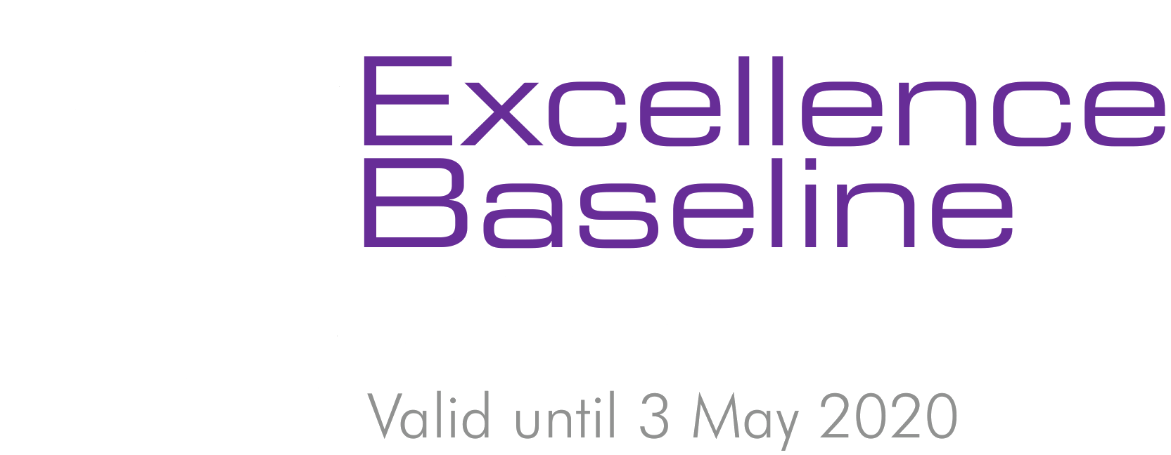 Excellence Baseline Certified